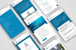 Spletna stran - mobilni prikaz