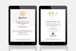 E-invitation to the event